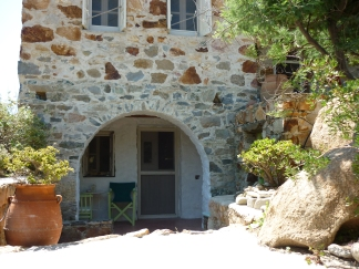 Serifos, stone, build, home, guest, house