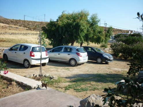 our private parking