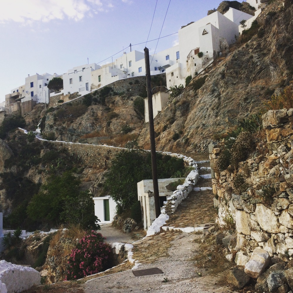 going up, Chora, May 2020
